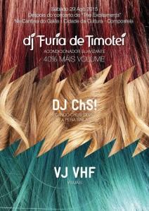 Con DJ Furia de Timotei y DJ ChS!